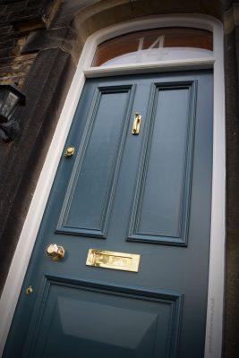 Catherine's Grand Victorian front door in Leeds 14-LS28-5PS