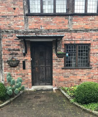 Cottage Front Door in Alderley Edge