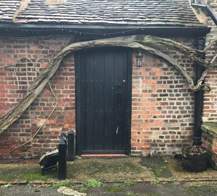 Cottage Front Door in Cheshire