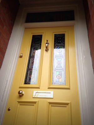Diane's Grand Victorian front door in Wilmslow 110-SK9-6LZ