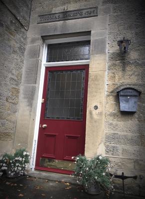 Georgian front door restoration in Derbyshire