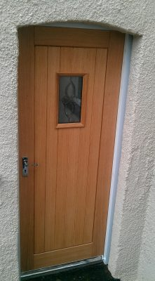 Oak Cottage Style Door