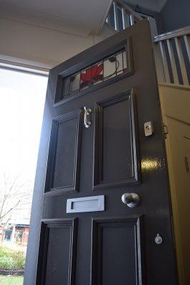 Regency Style Front Door in Manchester