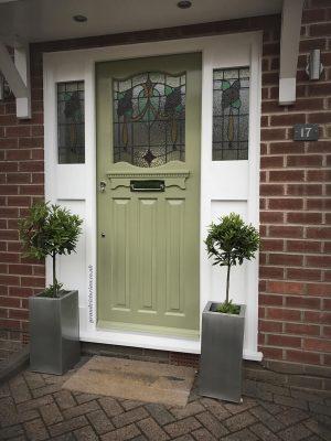 Replica 1930s Front Door
