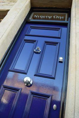 Solid Panel Georgian Front Door