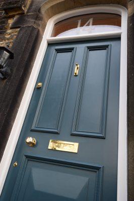 Victorian Front Door in Leeds