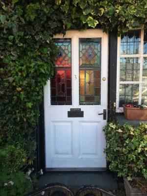 Victorian Stained Glass Door