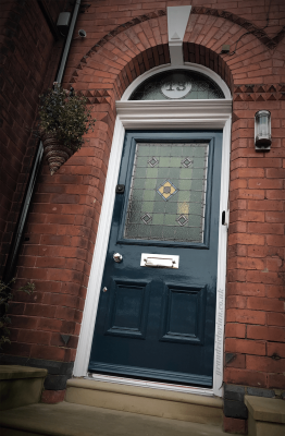 Victorian door restoration in Stockport