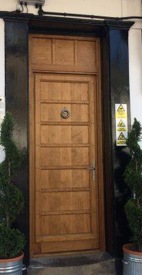 Wooden Panelled Door