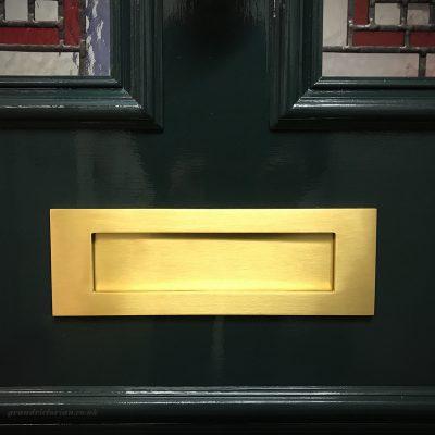 Banham letter plate