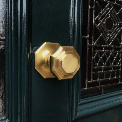 Victorian front door knob