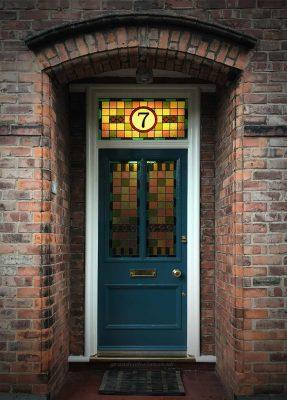 Victorian front door restoration in Didsbury